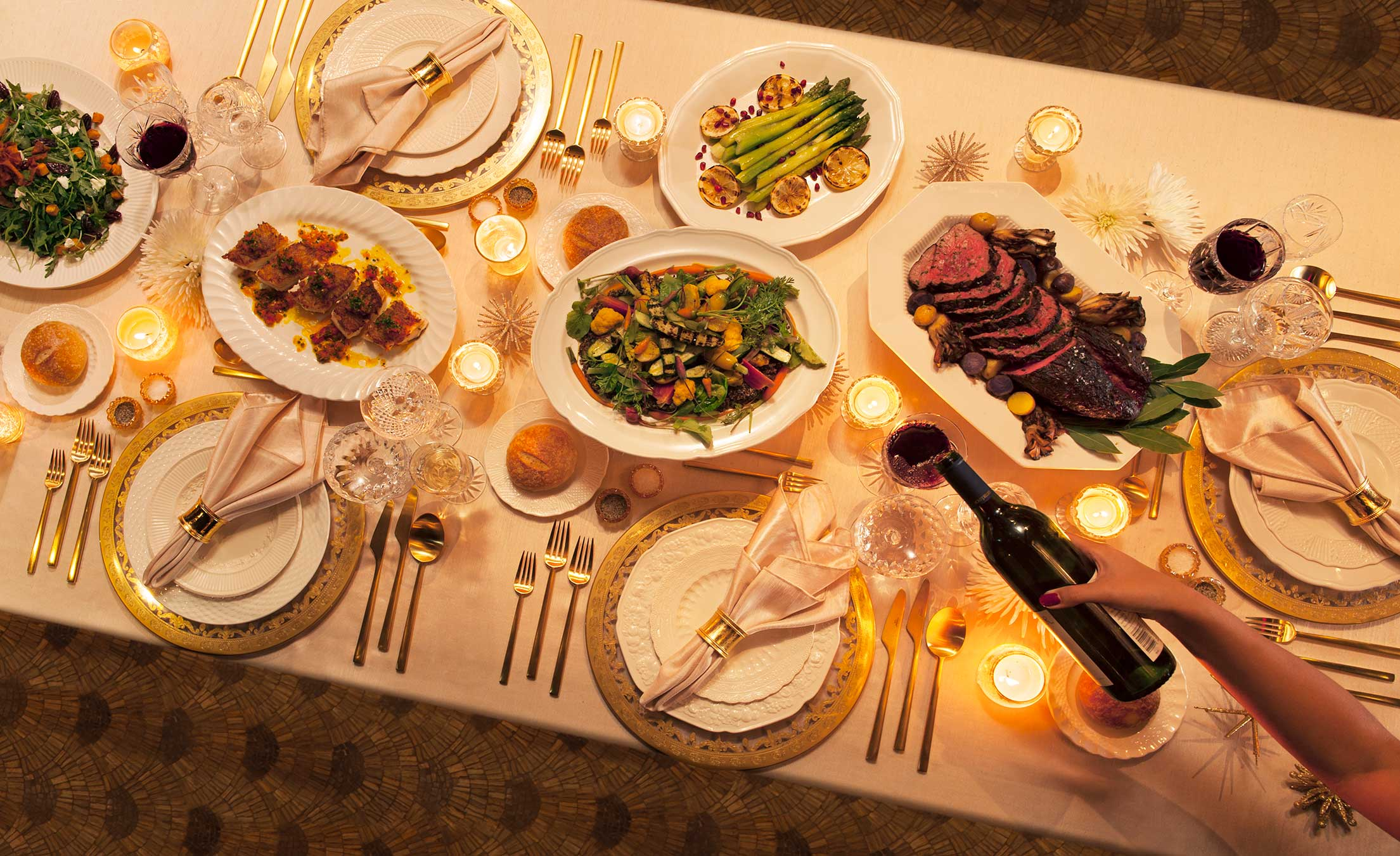 117HolidayDinnerTable1